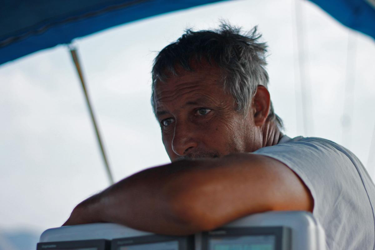 """Стефан Караманлиев, един от големите ветроходци на България и носител на престижния Златен Глобус """"Кор Кароли""""."""